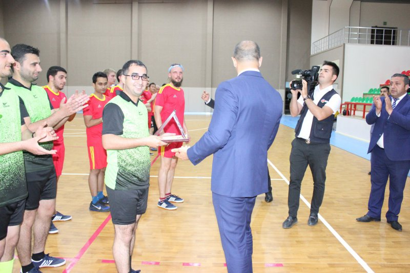 Chess players competed for the futsal championship 4