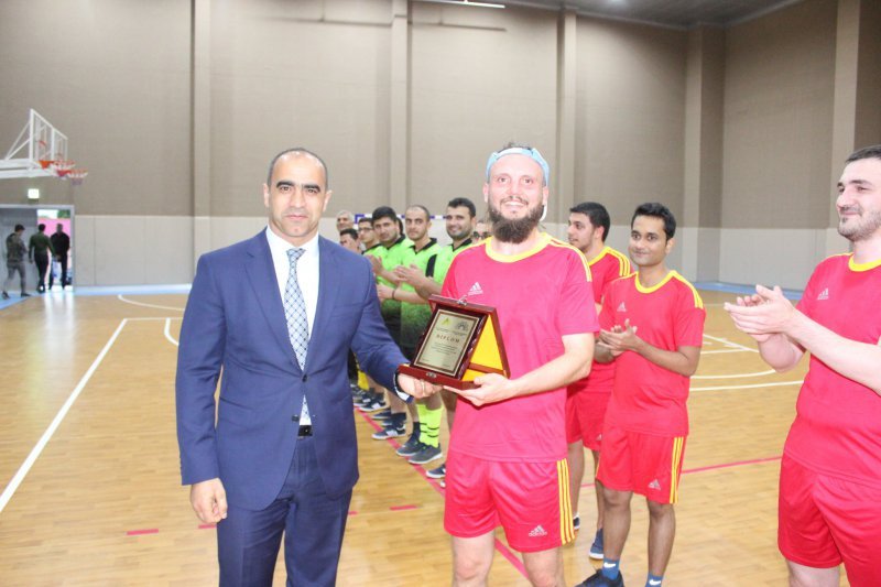 Chess players competed for the futsal championship 5