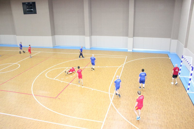 Chess players competed for the futsal championship 2