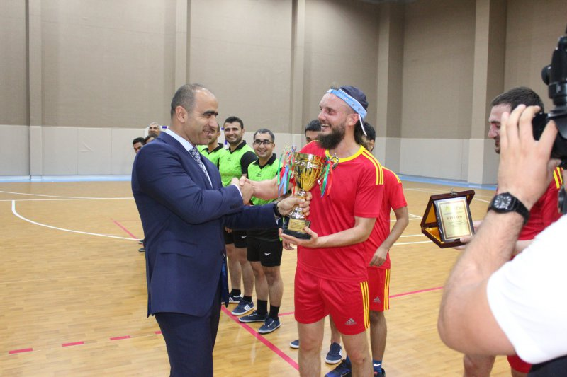 Chess players competed for the futsal championship 6