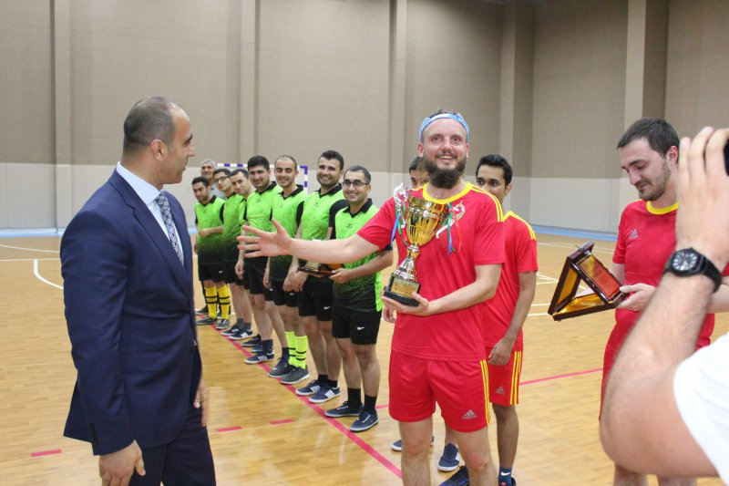 Chess players competed for the futsal championship 7