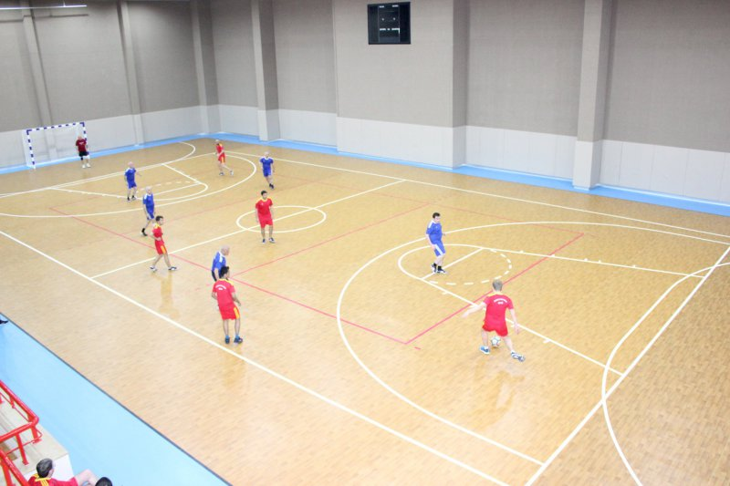 Chess players competed for the futsal championship 1