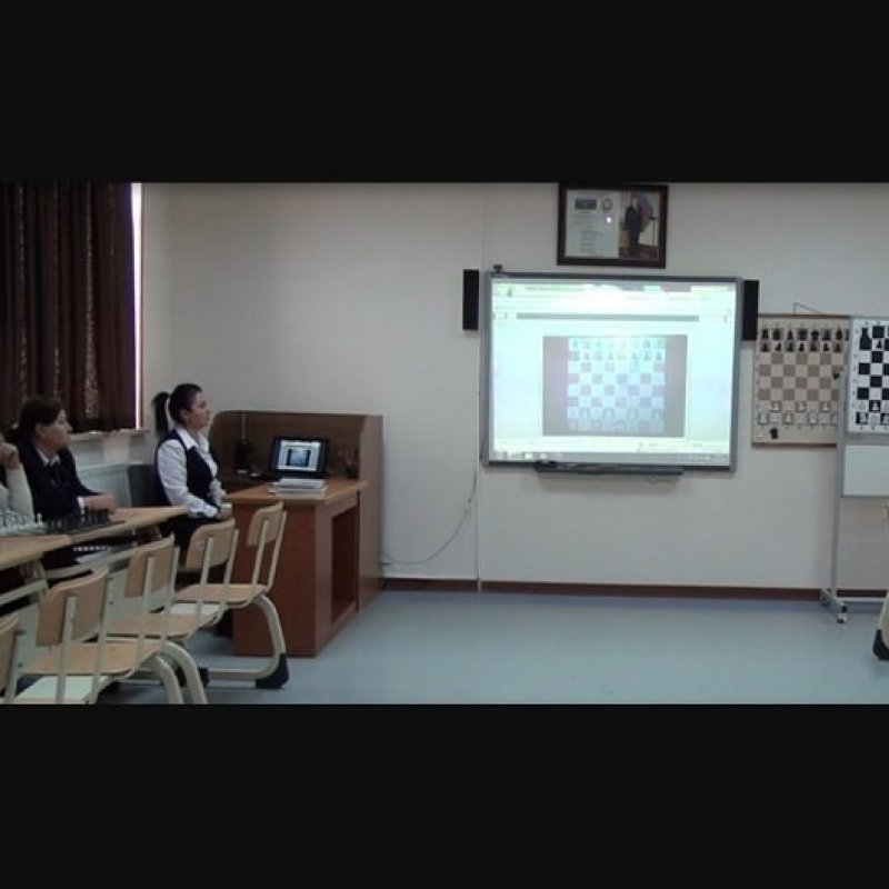 """Another interactive lesson was held on the topic """"Open games, explanatory analysis of Spanish opening"""" 2"""