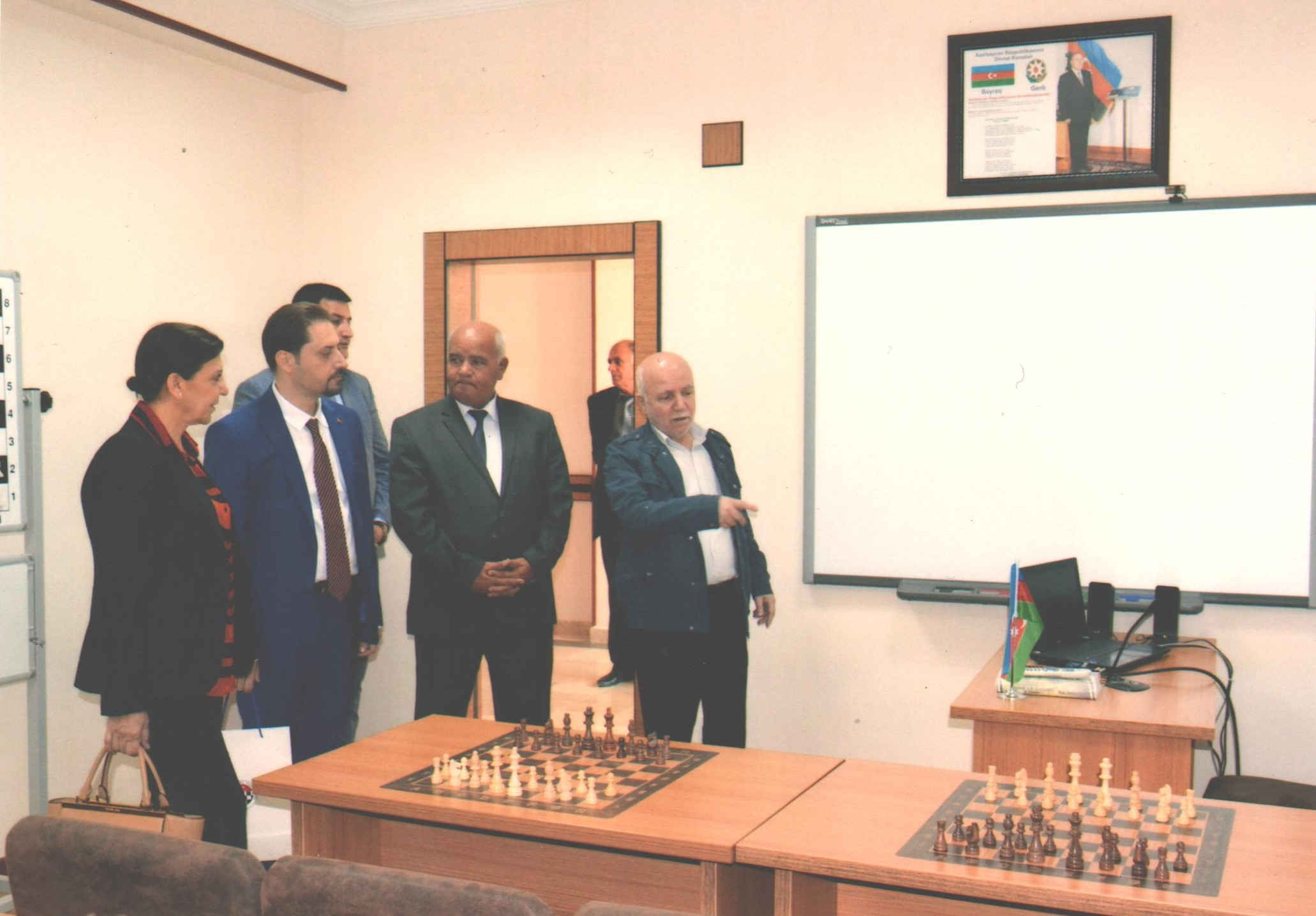 FIDE Vice President Gülkiz Tulay is in Nakhchivan